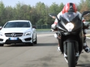 MV Agusta F3 800 vs Mercedes-Benz CLA 45 AMG