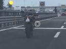 MV Agusta fahrerlos und läuft und läuft und läuft und Crash ?!