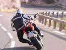 MV Agusta Rivale von Aldo Ballerini artgerecht bewegt - würdig!