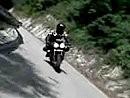 Motorradtour nach Rotzo hoch im Trentino, Italien