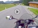 Namlostal, Tirol Österreich mit Honda CBR600F