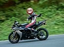 Naßfeld - nur ganz kurz Gas geben mit Yamaha R1