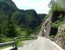 Nassfeldpass (Passo di Pramallo) mit Honda CBF 1000