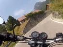 Naßfeldpass (Passo di Pramollo) - Kurvenspaß in Italien