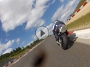 Nürburgring GP Strecke Monday Fun mit MSC Porz, Kawasaki ZX-10R