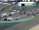 SBK2008 - Superstock 100 Crashes at Nürbrurgring