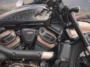 Neu: Harley Davidson Sportster S mit neuem Revolution™ Max 1250T Motor.