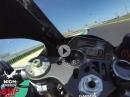 Neuer Asphalt: Misano (2020) onboard Niccolo Canepa, Yamaha R1