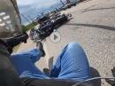 Neuer Reifen: Honda CB1100 Crash Hinterradrutscher