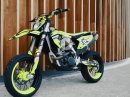 Next level Supermoto: Husqvarna FE350 by David Bost - Sehr geil!