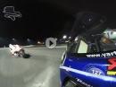 Niccolo Canepa Nachttraining, Sepang onboard Regenreifen, Yamaha R1, Soundporn