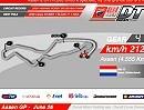 Nicky Hayden - Ducati - erklärt die Strecke in Assen (Grafik)