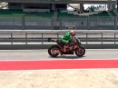 Nicky Hayden Rennstart-Simulation in Sepang 2014 - Braap
