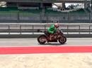 Nicky Hayden Rennstart-Simulation in Sepang 2014 - Braap