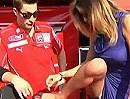 Nicky Hayden vs Belen Rodriguez - Höschen an?! Scheiss auf Rundenzeiten