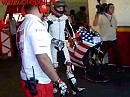 Nicky Hayden's first ride on the Ducati Desmocedici
