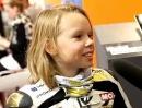 Nina Prinz Smalltalk mit dem ADAC Mini Bike Nachwuchs