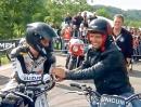Nina Prinz vs Guy Martin Glemseck 101 Rennen über die 1/8 Meile