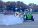 Ninja Doping: Ape Dreirad mit Kawasaki Ninja 900 ZX-9R Motor