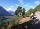 Von Drena nach Padergone über die Hochstraße am Lago di Cavedine