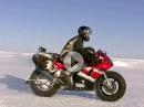 Nordpol mit Yamaha R1 - Winterfahrt extrem - Trailer