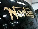 Norton Commando 961 - World first ride