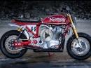 Norton MM44 Custombike von 72 Motorcycles - Bildschöner Umbau