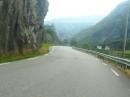 Norwegen - von Sand nach Roldal, tolle kurvenreiche Strecke