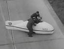 NSU Delphin III mit Wilhelm Herz Weltrekordfahrt - super Zeitdokument