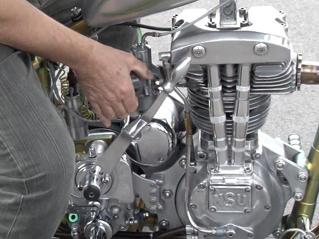 NSU Konsul Custombike - die persöhnliche Konsul, Hammer Umbau