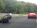 """Nürburgring Nordschleife: Ferrari 599GTB von außen """"getunnelt"""". Kurz und schmerzlos"""