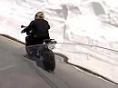 Nufenenpass 2009 in der Schweiz mit dem Sonndaachfahrer: