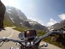 Nufenen Pass Nordseite von Gletsch (Grimsel) und Furka auf den Nufenen