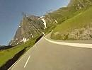 Nufenenpass (Schweiz) Motorradtour von Ulrichen zur Passhöhe BMW F800R