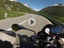 Oberalp Passhöhe von Andermatt mit Aprilia Tuono V4 1100 RR
