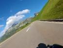 Oberalppass (Schweiz): Von Andermatt nach Tschamut mit BMW R1200R