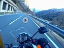Obertauern mit mit KTM 1290 SuperDuke GT mit