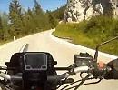 Ochsattel bei der Kalten Kuchl, Österreich mit Honda CB 500
