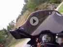 Ochsattel Richtung Kalte Kuchl mit Kawasaki ZX-10R