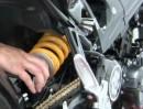 ÖHLINS Federbeinmontage am Beispiel BMW F 800 R von Wunderlich