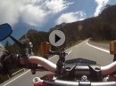 Ofen Pass (Pass dal Fuorn), Graubünden, Ducati Streetfighter S