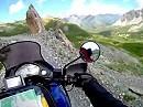 Offroad Motorradtour: Maira Stura Kammstraße, Auffahrt, Italien