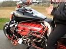 Motorrad Eigenbau: Ohle-V12 - 6 Liter Aston Martin Motor, 435 PS, 750Kg