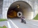 Ohrgasmus: Kawa Z750R vs. KTM 690 SMC R - im Tunnel aufgezogen