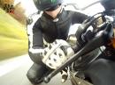 Onboard in den Herbst mit Kawasaki ZX6R