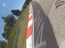 Onboard Kernsschrott Crash: Nürburgring Nordschleife, Schwalbenschwanz