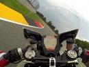 Sachsenring onboard KTM RC8R