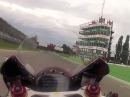 Onboard Lap Imola Ducati 1199 Panigale Superstock