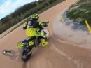 Onboard Runde mit Valentino Rossi auf seiner MotoRanch VR46