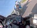Onboard Troy Corser BMW S1000RR M in TT Circuit Assen